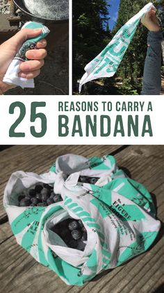 25 reasons to carry a bandana. A bandana is one of the most versatile pieces of gear you can have in your bag. Make sure you know how to make the most of it.