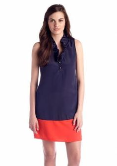 SOUTHERN fROCK  Button-Front Sleeveless Dress