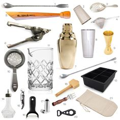 Tools of the Trade - Barware // HonestlyYUM