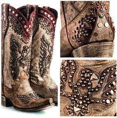 boots normally dont like studs on boots, but I could handle these