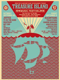 Treasure Island Music Festival, 2008