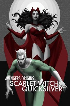 MARVEL COMICS: SCARLET WITCH & QUICKSILVER