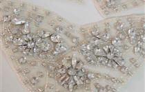 Beading detail from Bohemian Luxe Bridal Couture