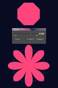 What You'll Be CreatingCreate a simple, shape-driven floral pattern with Adobe I. - What You'll Be CreatingCreate a simple, shape-driven floral pattern with Adobe Illustrator. Adobe Illustrator Tutorials, Photoshop Illustrator, Graphic Design Tutorials, Graphic Design Inspiration, Flat Design, Pattern Design, Print Design, Vector Pattern, Affinity Designer