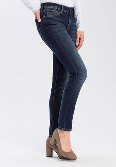 Cross Jeans® Slim-fit-Jeans »Anya«, trendige Waschungen ab 49,95€. Slim-Fit Jeans mit schmalem Beinverlauf, Leicht erhöhter Bund, 5-Pocket-Style bei OTTO