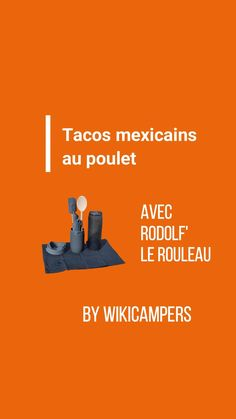 Découvrez en vidéo notre recette de tacos réalisée avec Rodol'f le Rouleau ! #recette #recipe #receta #tacos #cuisinerencamper #vanlifecooking #campercooking #rodolflerouleau Camping Car, Movie Posters, Mexican Tacos, Foodie Travel, Tasty Food Recipes, Chicken, Vacation, Film Poster, Billboard
