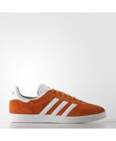 new concept 092ef 55ee2 Adidas Gazelle Mens Shoes Unity Orange White Gold Met. Bb5485