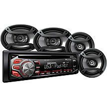 Save on Pioneer Complete Car Audio Package, DXT-X2669UI, 200W Stereo with - TrackIf