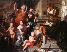 Allegory of the five Senses Gérard de Lairesse,1668 Sera @Asamsakti @N2312Neagoe @Milutta @cobixreyes @KglLaura