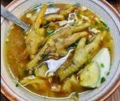 Resep soto ceker ayam berikut silakan disimak karna hasilnya tidak kalah dgn soto ayam lamongan, simak langsung resep n cara membuat soto ceker