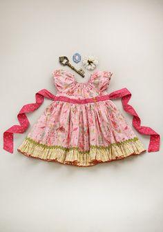 Every Aviary Peasant Dress $68 Matilda Jane Platinum