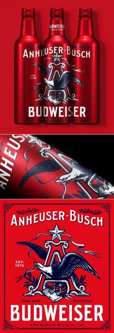 Budweiser Celebrated The Holidays By Paying Tribute To Their Past — The Dieline | Packaging & Branding Design & Innovation News