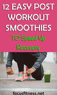 If you want to speed up recovery, this article will show you easy post workout smoothies you should drink Weight Loss For Men, Best Weight Loss, Weight Loss Tips, Lose Weight, Best Post Workout, After Workout, Just Juice, Post Workout Smoothie, Sweat It Out