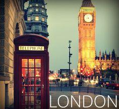 #london #travel #city #bigben #phonebox