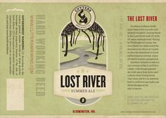 Beer label designs by designer and illustrator Kurtis Beavers, for Cutters Brewing Co.