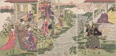 Utagawa Toyokuni I Title:Bijin in a Spring Garden