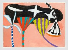 Gillian Ayres | Paintings | Works on paper | Editions | Monoprints - Gillian Ayres - Unique Works on Paper Geometric Painting, Abstract Painters, Camberwell College Of Arts, Painting Words, Art Basel Miami, Aqa, Unique Words, Pretty Pictures, Flower Patterns
