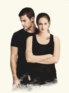 Four (Tobias) is de vriend van Tris. Ze ontmoete hem in het eerste boek nl. Divergent.