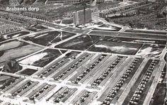 Oud Rotterdam zuid het Brabants Dorp, 1960 nog voor de metro en Zuidplein.