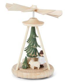 This Miniature 4'' Shepherd Pyramid is perfect! #zulilyfinds