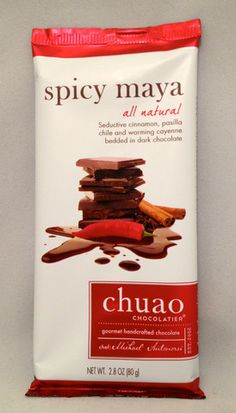 Chuao Spicy Maya Bar - Full of flavor, but not overly sweet or spicy. Great balance!