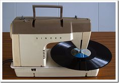 singer record player