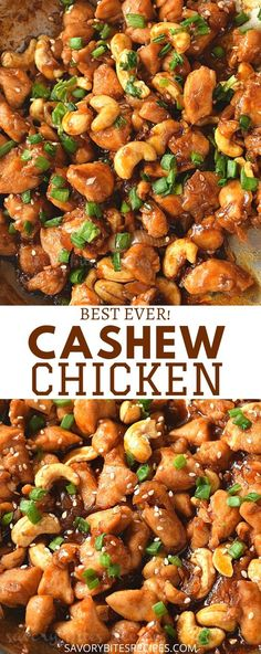 Try this best and easy dinner fix with better than takeout Chinese Cashew Chicken recipe - the sauce is very authentic and tasty,you are going to keep this healthy chicken recipe on your menu! chicken dinner Try This Ultimate Cashew Chicken Stir Fry Chicken Thights Recipes, Chicken Parmesan Recipes, Easy Chicken Recipes, Easy Cashew Chicken Recipe, Chinese Chicken Recipes, Beef Recipes, Cashew Chicken Recipes, Chinese Food Recipes Chicken, Asian Food Recipes