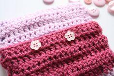 Crochet Cushion Back Tutorial (part 1) - from Cherry Heart