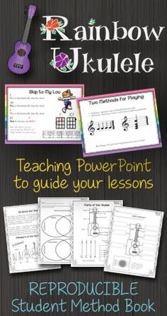 WOW! Do you teach ukulele in the general music classroom?  You MUST check out this resource.  It is amazing.  There are teacher plans, teacher presentations, a student method book, reward system and more!  I have never seen a better package for teaching ukulele!  #elmused
