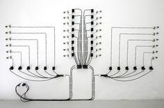 instalation art - The Electronic Installations of Alberto Tadiello