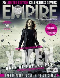 Capa Empire - X-men Dias de um Futuro Passado. 19 - Lince Negra