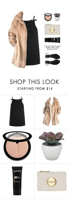 """80,000"" by janettetang ❤ liked on Polyvore featuring Miu Miu, Lilli Ann, Sephora Collection, Torre & Tagus, NYX and ASOS"