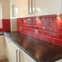 Loving Red Tiles For The Kitchen