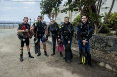 Las Eras scuba diving in Tenerife  buceo, duiken, tauchen