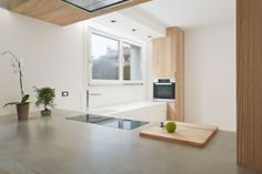 #microtopping kitchen surface - modern solution http://www.idealwork.com/Micro-Topping-Features-and-benefits.html