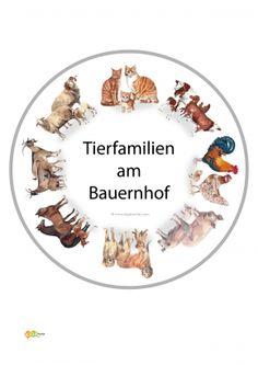 9-Kindergarten-KiGaPortal-Bauernhof-Tiere-Tierkinder-Tierbabies-Tierfamilien-Kuehe-Rinder-Katzen-Schafe-Ziegen-Pferde-Hunde-Montessori-Bodenbild