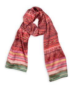 Kuskiraymi I Silk Crepe Satin Scarf by ViviAndeanDesigns on Etsy, £180.00