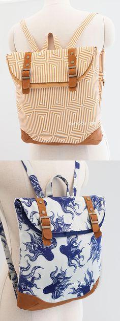Brigitta Foldover Backpack PDF Pattern - ithinksew.com