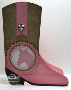 Howdy Cowgirl by StampOwl - Cards and Paper Crafts at Splitcoaststampers