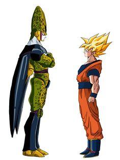 Cell Vs. Goku