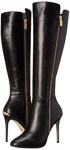 MICHAEL Michael Kors Women's Clara Boot Black Knee-High