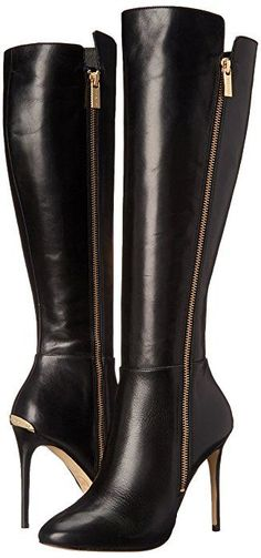 MICHAEL Michael Kors Women's Clara Boot Black Knee-High