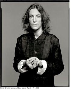 Patti Smith, NY, avril 1998 - Photography Richard Avedon