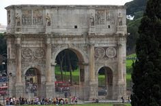 Arch of Constantine | The triumphal Arch of Constantine, loc… | Flickr