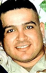 Army SSG Abraham D. Penamedina, 32, of Los Angeles, California. Died April 27, 2004, serving during Operation Iraqi Freedom. Assigned to Company B, 20th Engineer Battalion, 1st Cavalry Division, Fort Hood, Texas. Died of wounds sustained when hit by enemy small-arms sniper fire in Baghdad, Iraq.