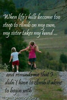 love my sister / love my sister & love my sister quotes & love my sister funny & love my sister sibling & love my sister thankful for & love my sister inspiration & love my sister heart & love my sister hindi Little Sister Quotes, Love My Sister, Best Sister, Little Sisters, Thank You Sister Quotes, Sister Sister, Brother Quotes, Three Sisters, Daughter Quotes