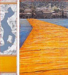Christo, The Floating Piers - The Floating Piers (Project for Lake Iseo, Italy)