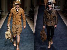Moda masculina en París: la sofisticación versión Balmain y Hermes