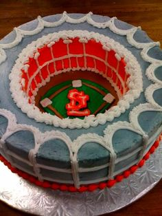 Awesome Cards cake by The Upper Crust Bakery and Cafe in Columbia, MO.