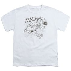 MAD MAGAZINE SKETCH Youth Short Sleeve T-Shirt